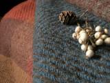竹村優利佳 羊毛から紡ぎ生まれた布たち