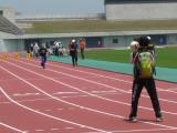 兵庫県障害者のじぎくスポーツ大会・陸上 視覚障害者100m走
