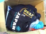 デフバレー応援Tシャツ販売
