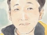 山口リクさんに描いてもらった似顔絵
