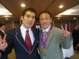 ロンドンパラリンピック金メダリスト 田中康大選手と