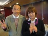ロンドンオリンピック金メダリスト 蟹江美貴選手と