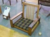 座っ展2013 出展作品 座椅子