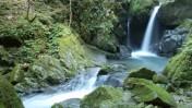 音水渓谷の明神滝