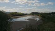 川の流れが変わった