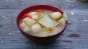 芋煮会 豚汁