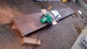 キッチン天板のカット