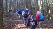 山開き準備の登山道整備
