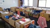 支援物資仕分けボランティア