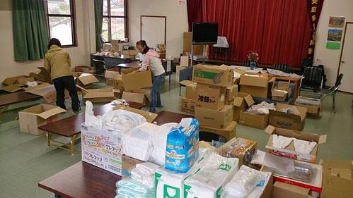 物資センター機能も終了 | 手作り家具屋のスローな日々