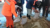 土のう作り体験