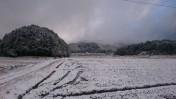 今冬一番!