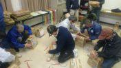 日置地区防災訓練