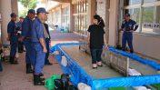 岡野地区防災訓練