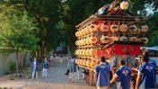 波々伯部神社のお祭り